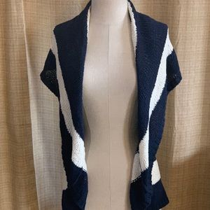 Cabo Stripped Sweater Vest NWT